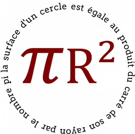 pi r²