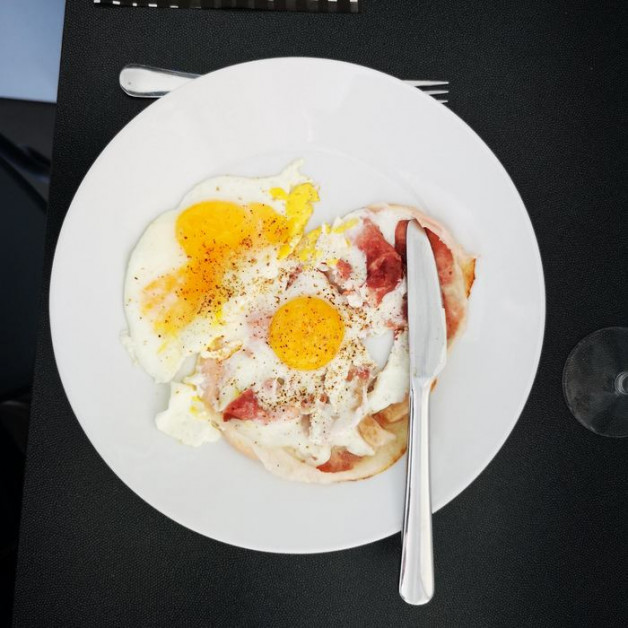 Oeufs au bacon